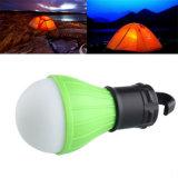 屋外のハングLEDのキャンプテントの電球釣ランタンランプ