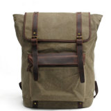 デザインキャンバス日パックの革学生のショルダー・バッグの中国の卸し売りイギリス製造者(RS-2200-P)