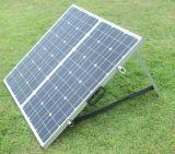 캐라반으로 야영을%s 태양 전지판을 접히는 단청 80W