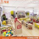 Таблица и стулы малыша Preschool мебели класса деревянные для малышей