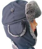 Bouchon d'hiver de la mode avec l'homme fait de la fourrure (VT031)