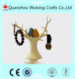 Gifts Tree Design de la resina de señora con la decoración del sitio del sostenedor de la joyería del pájaro