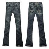 Damen Jeans mit schmalem Bein und hohem Bund (PL1636-D)