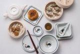Taza de té de la melamina/taza hermosa del gallo (GM659)