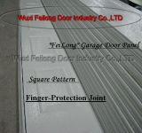 Grãos de madeira do painel de porta de garagem --- isolamento térmico com certificado CE EURO
