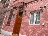 Pabellón/persianas del toldo del policarbonato vertidas para las puertas de Windows& (series de D)