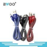 Cable de datos popular al por mayor del USB de Bwoo para el teléfono elegante