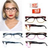 La plus défunte lunetterie de mode de bâti de lunettes d'acétate de plastique