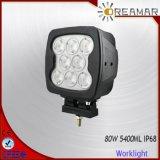 7inch 5400lm 80Wのクリー族LEDのヘッドライト