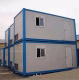 Het Huis van de Container van het Comité van de Sandwich van het Frame van het Staal van lage Kosten