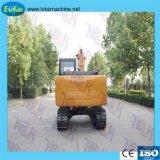 Kleiner hydraulischer Gleisketten-Exkavator Hersteller-China-5.55t für Verkauf