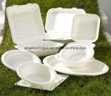 шар 400ml 14oz белый для быстро-приготовленное питания упаковывая с Eco-Friendly материалом