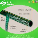 Pipe flexible renforcée colorée de jardin tressée par PVC de la meilleure qualité