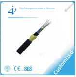 Cable óptico autosuficiente de fibra de la antena ADSS del Todo-Dieléctrico con el palmo más grande de 1000 contadores