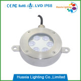 Indicatore luminoso subacqueo della fontana di IP68 6W RGB LED