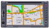 6.2 doppelten Lärm-Screen-DVD-Spieler mit eingebautem GPS Schritt für Schritt fortbewegen
