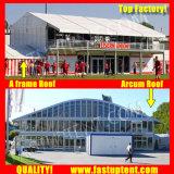 Populäres transparentes Festzelt-Zelt des doppelten Decker-2018 für Partei