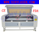 автомат для резки лазера 1600*1000mm для ткани MDF древесины акриловой кожаный