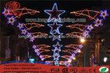 Indicatore luminoso solare della decorazione della strada, indicatore luminoso di festa di natale del LED