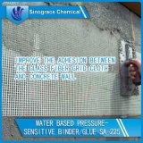 Reliure acrylique à base d'eau sensible à la pression pour colle à la fibre de verre