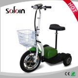 Motorino elettrico della via del motore senza spazzola pieghevole della rotella dell'equilibrio 3 di mobilità (SZE500S-3)