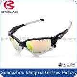 Óculos de Golfe Tac Polarizados baratos de alta qualidade Customized Logo Printing Volleyball Baseball Golf Óculos de sol