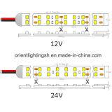 Duel-Ligne bande de SMD1210 (3528) 240LEDs 12V R/G/B/W DEL