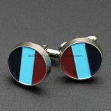 Comercio al por mayor Silver Wing personalizado de diseño de moda para hombres Clip de corbata y gemelos Set