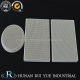 Piezas de cerámica modificadas para requisitos particulares de la cordierita refractaria