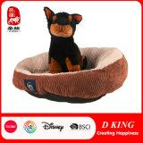 Stuk speelgoed van de Pluche van de Hond van het Huisdier van de douane het Bed Gevulde