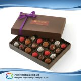 De Verpakkende Doos van de Chocolade van het Suikergoed van de Juwelen van de Gift van de valentijnskaart met Lint (xC-fbc-025)