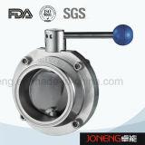 Aço inoxidável soldados sanitárias a Válvula Borboleta com extremidade curta (JO-BV5001)