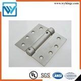 Cerniera allentata residenziale d'acciaio della molla di pollice 2.7mm di Pin 4 della cerniera di portello