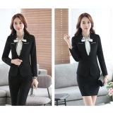 Costumes d'affaires uniformes de bureau de mode féminine de T / R