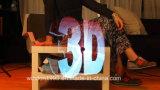 A alta resolução 42x42 cm Hypervsn projetor com holograma em 3D para publicidade