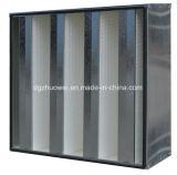 Высокие эффективные 99.99% пластичных воздушного фильтра совмещенных креном HEPA H14 рамки v