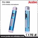 Microphone sans fil portatif professionnel de Fg-1002 2.4G