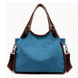 Handtas de van uitstekende kwaliteit van het Canvas Dame Popular Tote Shoulder Bag Groothandelsprijs van China SA02 (1)