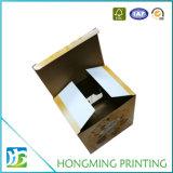 Caixa de empacotamento recicl costume do cartão para anéis de espuma