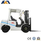 4ton Diesel Manipulador Telescópico Hidráulico Manual con Neumático Sólido de Montacargas