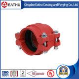 Raccords de tuyaux à rainure en fer ductile utilisés dans le système de lutte contre l'incendie
