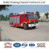 4tons Isuzuの泡および水普通消防車Euro2
