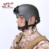 Capacete tático de Ibh com o exército tático do selo da marinha da montagem dos óculos de proteção de Nvg que dá um ciclo caçando o capacete de segurança protetor do capacete de Wargame
