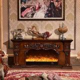 セリウムの公認のホーム家具MDFのヨーロッパ式の電気暖炉(318S)
