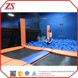 ASTM, TUV aprobó la gimnasia de interior del trampolín para la venta
