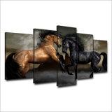 HDは愛馬の絵画キャンバスの版画室の装飾プリントポスター映像のキャンバスMc035を印刷した