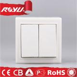 力の異なったタイプの電子軽い壁スイッチ