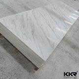 Surface solide en pierre acrylique coréenne de glacier neuf de couleur