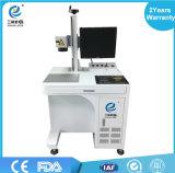 Heiße verkaufende preiswerte bewegliche Minifaser-Laser-Markierungs-Maschine für Anminal Ohr-Marken, Plastik, Autoteile