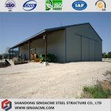 Полуфабрикат модульное здание стальной рамки для сарая/пакгауза